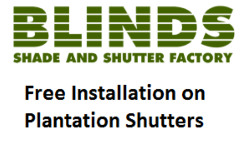 Blinds Shade and Shutter Factory Specials